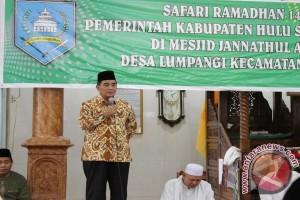 Pemkab HSS Agendakan 15 Titik Safari Ramadhan 1438 H