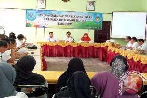 Pemkab HSS Evaluasi Kabupaten Layak Anak