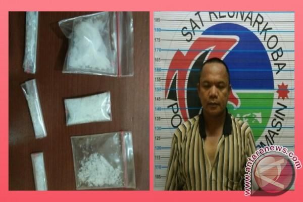 Polisi Sita Enam Paket Sabu-Sabu Siap Edar