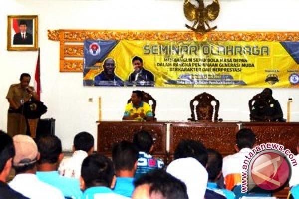 Batola Gelar Seminar Sepakbola