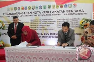 Surabaya dan Banjarmasin Teken Kesepakatan
