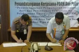 Polresta Banjarmasin Dan PDAM Jalin Kerja Sama