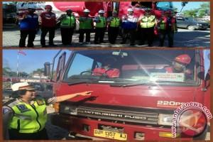 Polda Kalsel Cek Kesiapan Angkutan BBM Pertamina