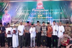 Polda Kalsel Peringati Nuzulul Quran