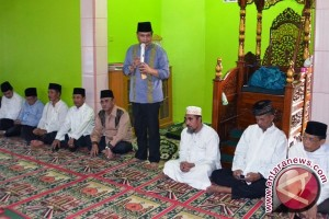 Wagub Safari Ramadhan ke  Desa Babat Raya