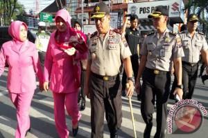 Kapolda : Polisi Patroli Tidak Boleh Sendiri