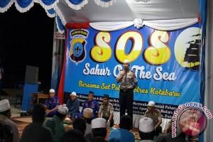 Sahur On The Sea Jalin Kemitraan Polisi Dan Masyarakat