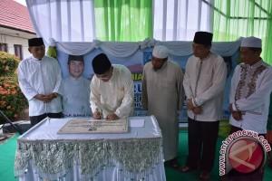 Bupati HSS Resmikan Mushala Nurul Fikry