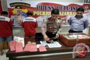 Polres Banjarbaru Gulung Komplotan Pemalsu Surat