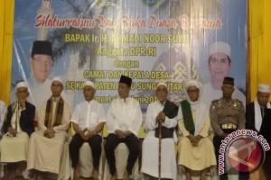 Anggota DPR Buka Puasa Bersama Kepala Desa