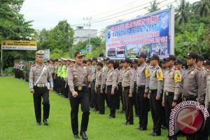 Polres HSS Gelar Pasukan Operasi Ramadniya Intan 2017