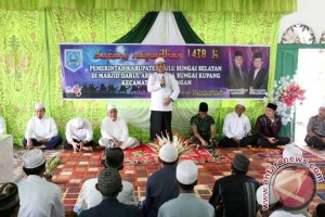 Bupati HSS Tutup Safari Ramadhan di Sungai Kupang