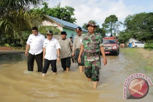 Wakil Bupati Tanah Bumbu Tinjau Korban Banjir