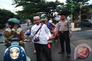 Polsek Tapsel Berbagi Takjil Bersama Wartawan