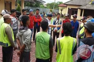 Polsekta Banjarmasin Tengah Amankan 18 Juru Parkir