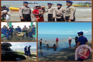 Satpolairud Polres Tanbu Amankan Obyek Wisata Pantai