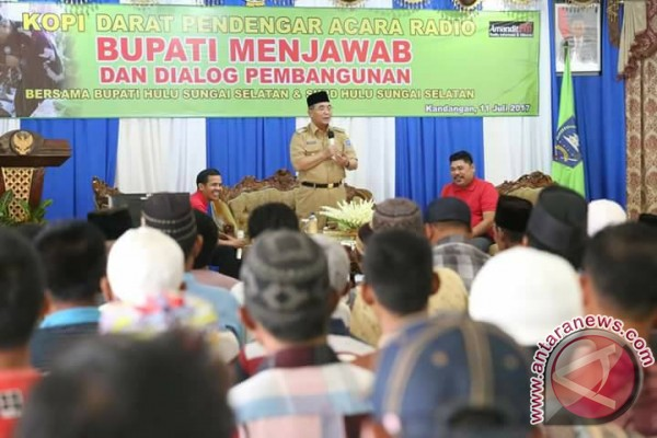 Dinas Kominfo HSS Gelar Dialog