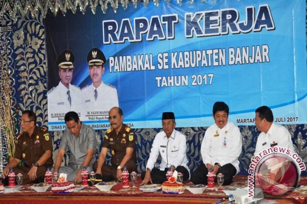 Kajati Hadiri Raker Pembakal Se-Kabupaten Banjar