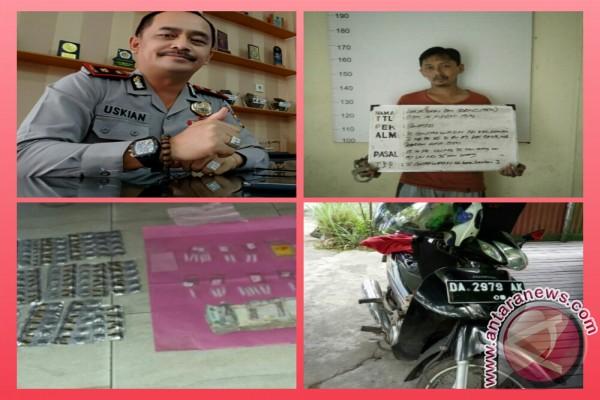 Polsekta Banjarmasin Tengah Sita 21 Paket Sabu-Sabu Siap Edar