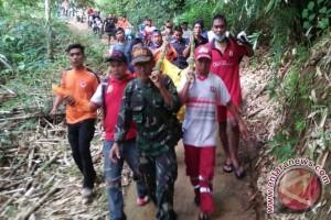 Korban Tenggelam Di Air Terjun Haratai Ditemukan Meninggal