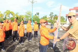 Kontingen Atlet Paralimpic Tanah Bumbu Dilepas