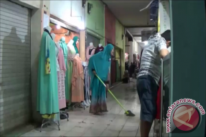 Pedagang Pasar Kemakmuran Kotabaru Resah