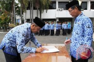 Pimpinan SKPD Tandatangani Perjanjian Kerja Dengan Bupati
