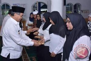 Anggota Barakatan Guru SD Angkinang Gelar Halal Bihalal
