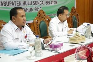 Pemkab HSS Gelar Rakor Evaluasi RPJMD Triwulan II