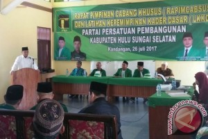 PPP HSS Sepakat Usung H Achmad Fikry