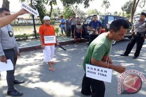 Polsekta Banjarmasin Timur Gelar Rekonstruksi Pembunuhan