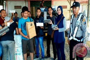 Polisi Sita 8.000 Bungkus Rokok Cukai Palsu