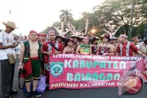 Balangan Berpartisipasi Pada Ajang Festival Budaya Borneo 2017