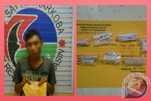 Polisi Tangkap Pengedar Simpan Tujuh Paket Sabu-Sabu