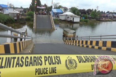 Bina Marga Batola Selidiki Penyebab Jembatan Ambruk