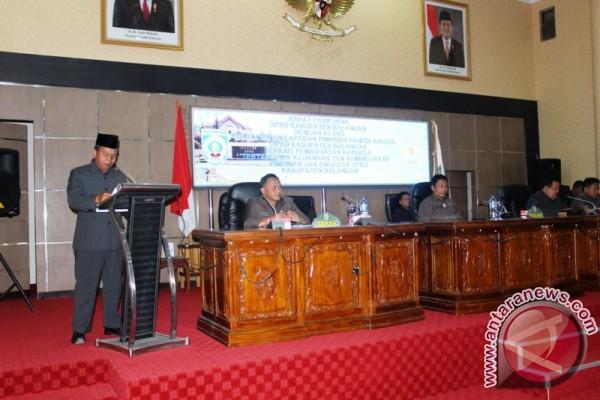DPRD Meminta Agar Raperda Keuangan Segera Di Perdakan