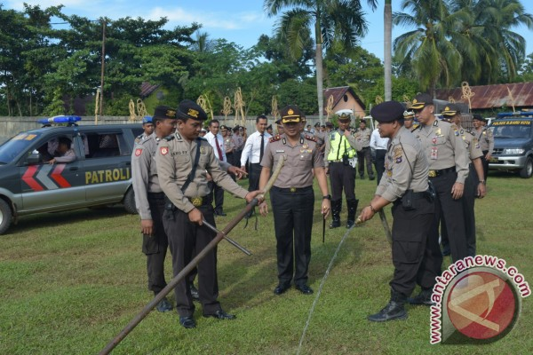 Banjarbaru police alet on forest and land fire