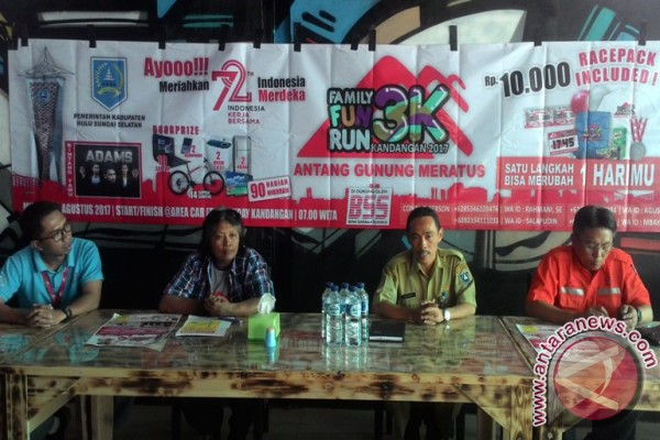 HSS Gandeng AGM Gelar Family Fun Run 3K