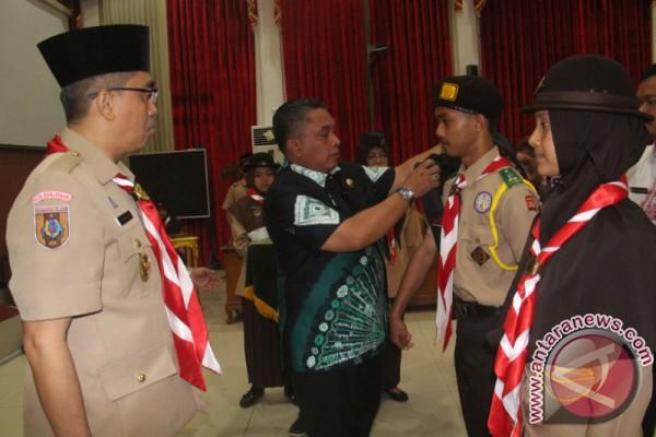 Pelepasan Peserta Raimuna Nasional XI Gerakan Pramuka 2017