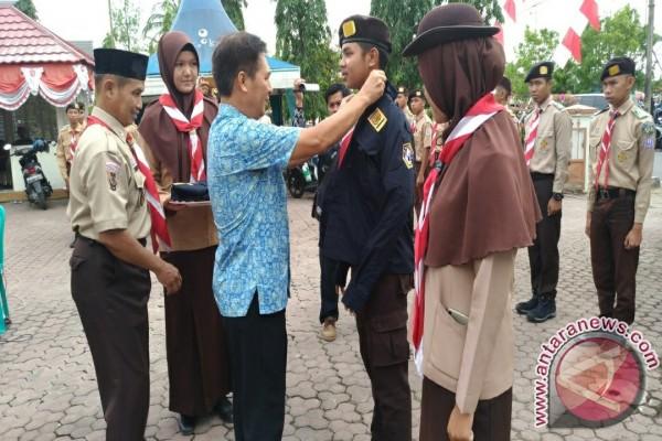 Wabup Lepas Kontingen Raimuna Nasional Kwarcab Tapin