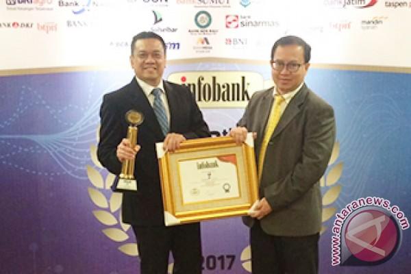 Bank Kalsel Ukir Sejarah Raih Infobank Award