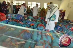 Puluhan Koper Calhaj Embarkasi Banjarmasin Dibongkar