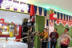 Wabup HSS Resmikan Arena Bermain Pasar Kandangan