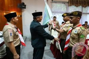 Kontingen Kwarcab Pramuka HSS Ikuti Raimuna