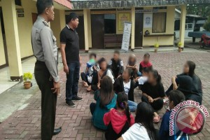 Police Secures 15 Street Children Disturbing People