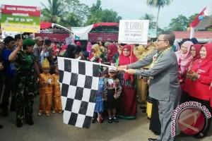 RIbuan Anak Usia Dini Meriahkan HUT Kemerdekaan RI Ke 72