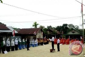 Pemuda Muhammadiyah Paharangan Gelar Upacara 17 Agustusan