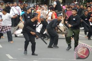 Sosiodrama Warnai Upacara HUT ke-72 RI