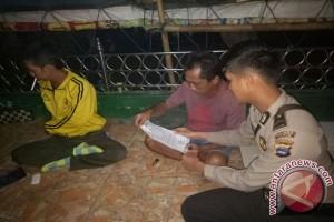 Polsek Tapin Utara Giat Mengaktifkan Kembali Poskamling