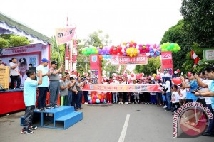 Family Fun Run Jadi Wahana Olahraga dan Aksi Sosial HSS